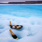 En yate de lujo a la Antartida