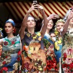 Frivolidad en los desfiles Dolce & Gabbana