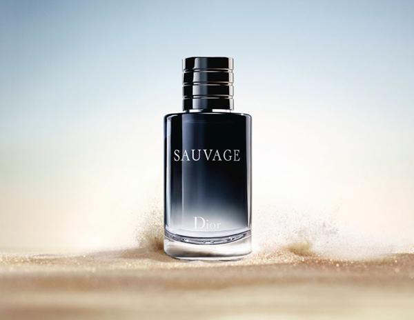 sauvage bottle