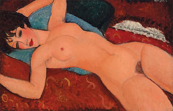 Modigliani's-Nu-Couché-