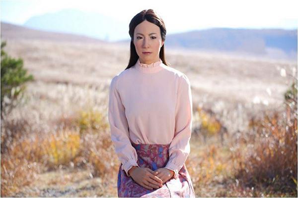Un androide protagoniza una película japonesa