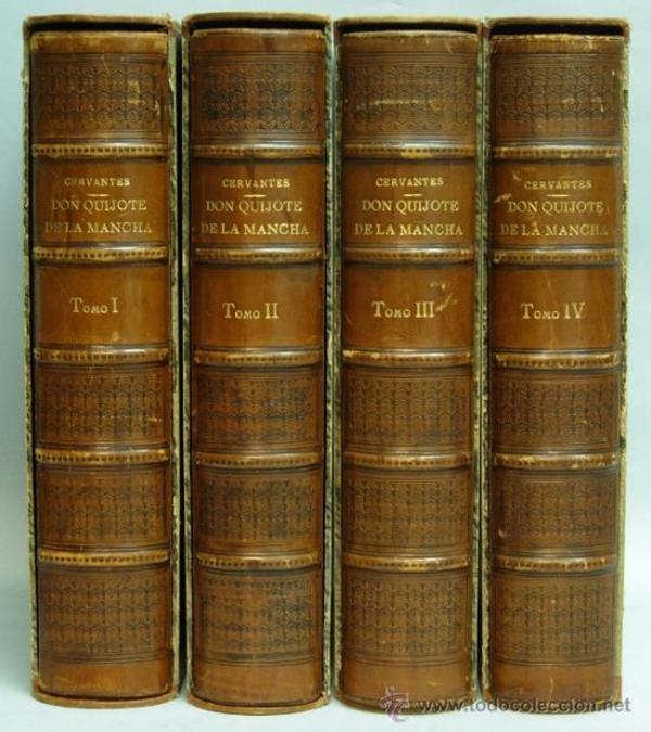 4 volumenes don quijote