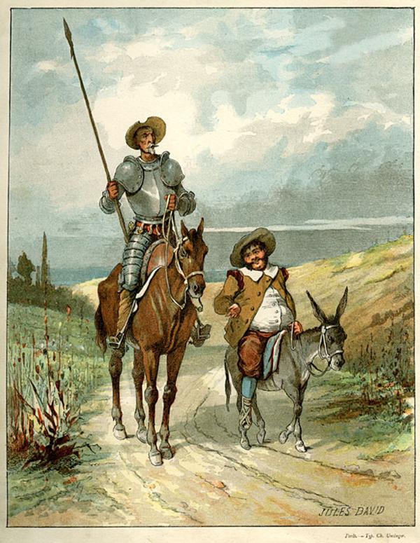 El Ingenioso Hidalgo Don Quijote de la Mancha - estilos de