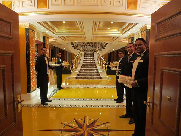royal suite entrance