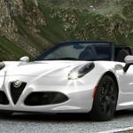 Diseño italiano en el Alfa Romeo 4C Spider