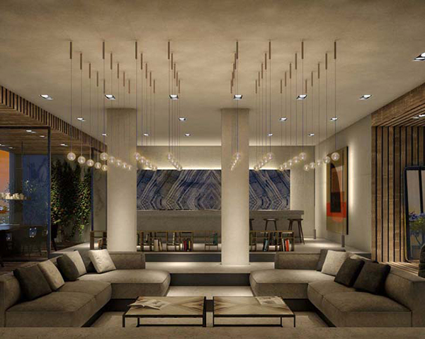 Luxurious Penthouse Dramatic Interior Luxury Penthouse 04 Estilos De Vida Estilos De Vida