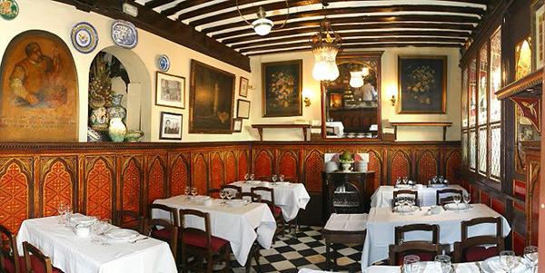 restaurante botin Comedor Galdos