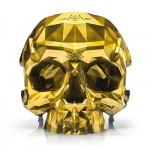 Gold Skull Armchair el sillón que debería tener todo súpervillano