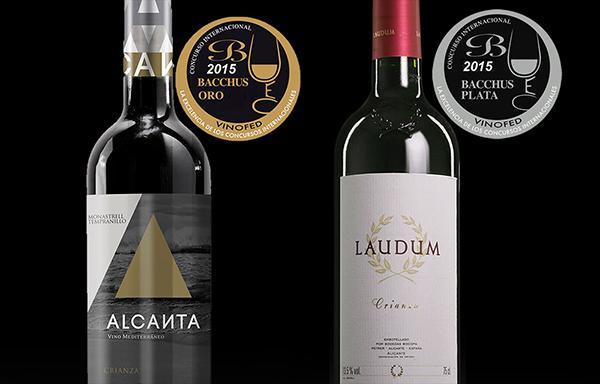 Alcanta-Crianza-Laudum-triunfan-premios-Bacchus-2015