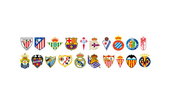 equipos de la liga espanola