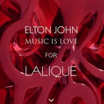 Elton John y Lalique colección Music is Love