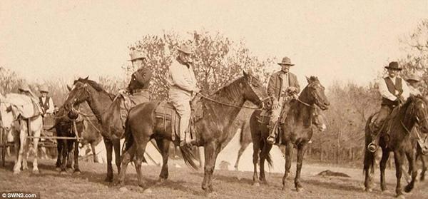 presidente roosvelt de visita al rancho