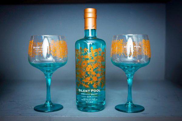 silent pool bottle glass