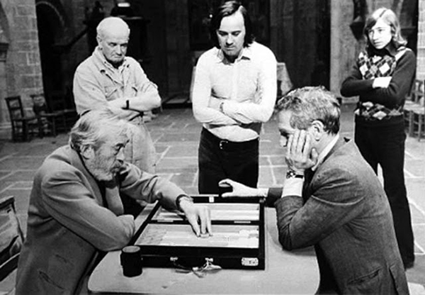 Backgammon huston y newman