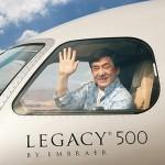 El nuevo jet privado de Jackie Chan