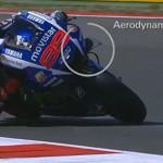 Alerones en las Moto GP