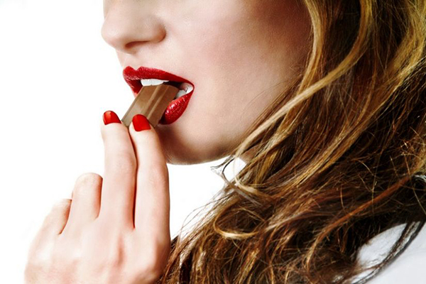 chocolate mujer