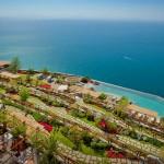 El bello Hotel-Monasterio de Santa Rosa en Amalfi