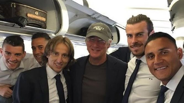 Richard-Gere-Real-Madrid-Milan 2016
