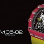 Rafa Nadal y Richard Mille colaboración de lujo para relojes exclusivos
