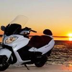 La maxi scooter Suzuki Burgman 650 Executive