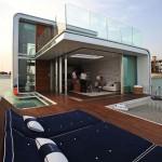 Estas son las lujosas villas flotantes de Dubai