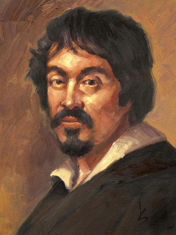 retrato caravaggio