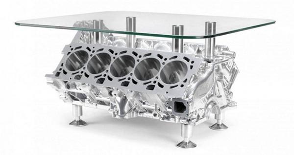 Lamborghini-V10-Engine-Coffee-Table-0