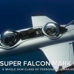 Super Falcon Mark II un submarino para volar bajo el agua