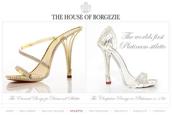 Los zapatos más caros los stiletto Borgezie de 150.000€ - estilos de ... bad364ebafff