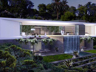 En venta villa de diseño en Ibiza