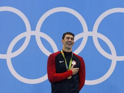Michael Phelps el mejor atleta de todos los tiempos