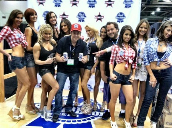 pabst blue ribbon team in las vegas