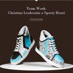Zapatillas de lujo Sporty Henri de Christian Louboutin