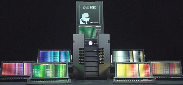 Karl Lagerfeld y Faber-Castell lanzan el lujoso kit de arte Karlbox