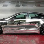 Espectacular Tesla Model S personalizado por Office-K