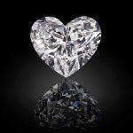 Graff Venus impresionante y único diamante con forma de corazón