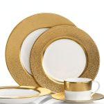 Preciosas vajillas de oro y platino de Donna Karan