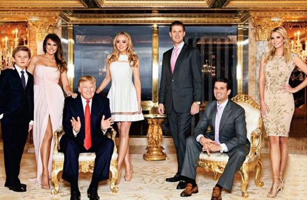 familia-trump-con-hijos