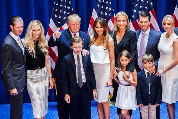 familia-trump-elecciones