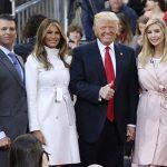 Retrato de la Familia Trump: las esposas