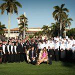 Donald Trump en Mar-A-Lago su exclusivo Club de Florida