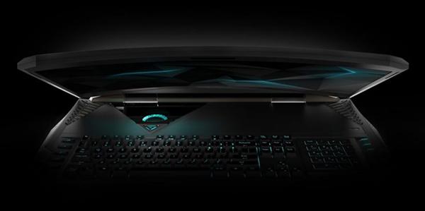 Acer Predator 21 X el primer laptop de pantalla curva
