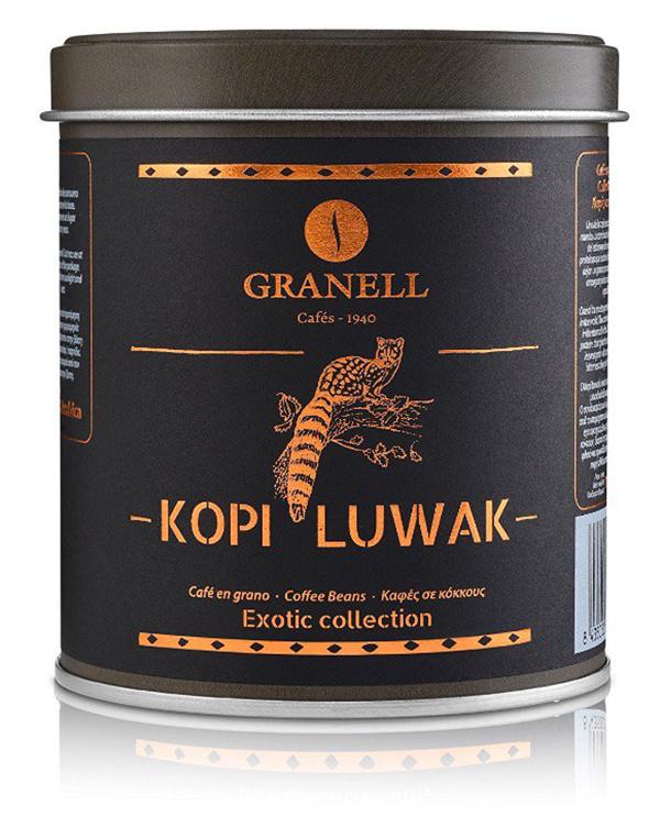 Granell_Kopi_Luwac_Cafe_Grano_Exotic_Colección