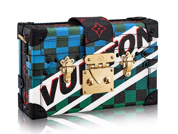 Louis-Vuitton-Race 06-Petite-Malle-Clutch