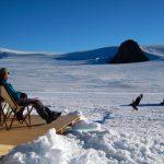 Turismo de lujo en la Antártida