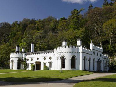 Luggala Lodge un paraíso privado en Irlanda