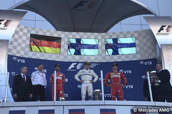 Mucho lujo en el Gran Premio de Rusia 2017