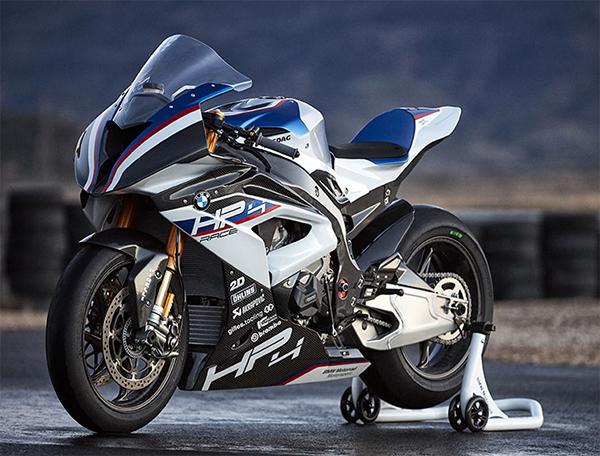 Moto BMW HP4 Race de Edición Limitada