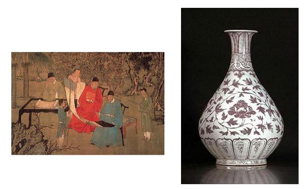 Jarrones chinos para coleccionistas
